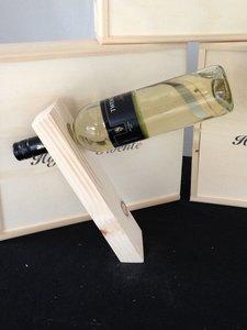 Steigerhouten wijnrek Balans